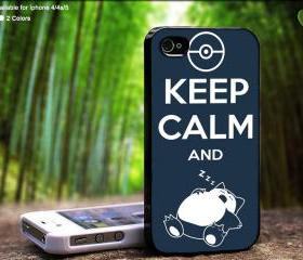 Keep Calm And Sleeping - Case For iPhone Case, iPhone 4, Case, iPhone 4S, iPhone 5, Hard Cover